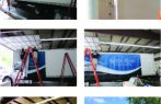 Truck skin frame banner system