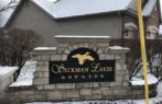 Seckman Lakes subdivision sign