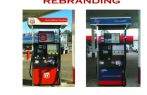 Gas station re branding