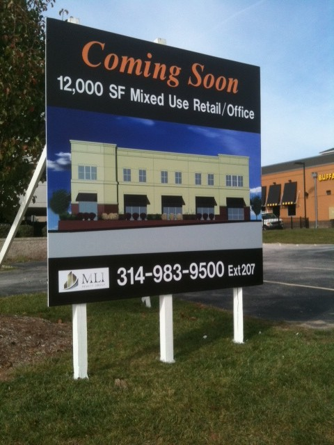 Jobsite Construction Real Estate Dale Sign Service
