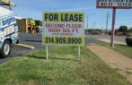 For lease signs st charles mo