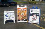 Sidewalk signs st charles mo