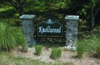 Subdivision sign sandblasted sign on aluminum fencing-and-stone-columns